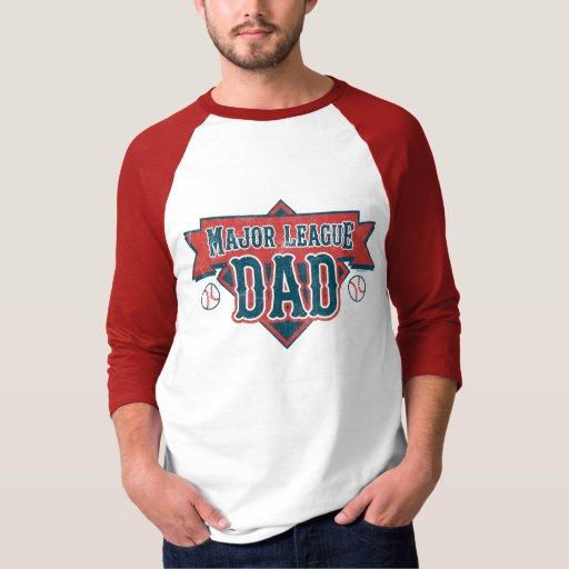 Camiseta del papá de la primera división playeras