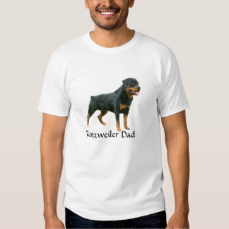 Camiseta del papá de Rottweiler Camisas