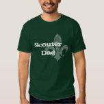 Camiseta del papá de Scouter Poleras