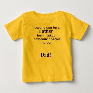 Camiseta del papá del bebé