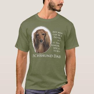 Camiseta del papá del Dachshund