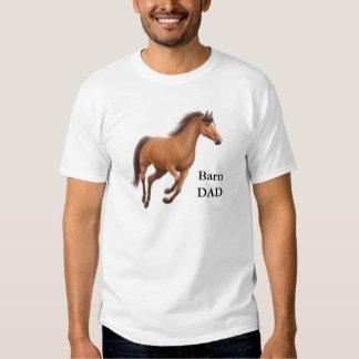 Camiseta del papá del granero remeras