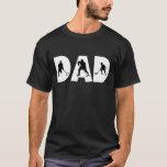 Camiseta del papá del hockey del día de padre