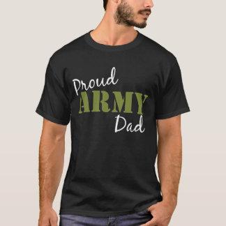 "Camiseta ""del papá orgulloso del ejército"""