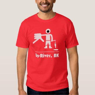 Camiseta del Para arriba-Río Playera