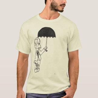 """Camiseta del """"paraguas"""" de los hombres"""