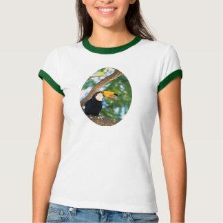 Camiseta del paraíso del pájaro de Toucan