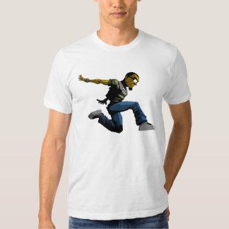 Camiseta del parkour del salto de Logik Polera