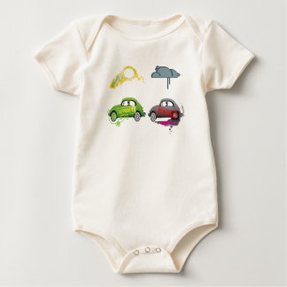 Camiseta del Partido Verde Mameluco De Bebé