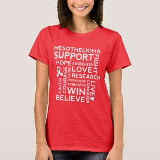 Camiseta del paseo de la conciencia del