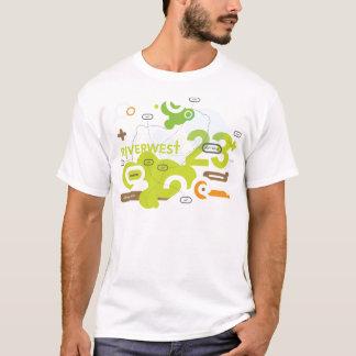 Camiseta del paseo del arte de Riverwest