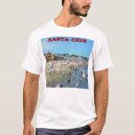 Camiseta del paseo marítimo de la playa de Santa