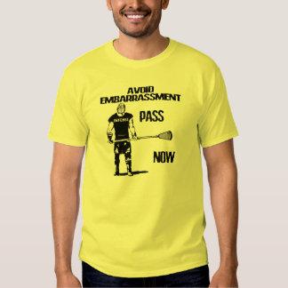 Camiseta del paso de la defensa de LaCrosse Poleras