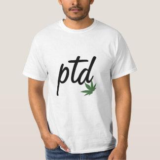 Camiseta del #passthedank de PTD Playera