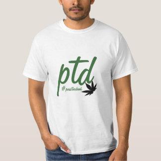 Camiseta del #passthedank de PTD Playeras
