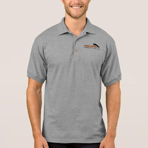 Camiseta del pastor alemán polos