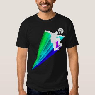 Camiseta del patinador playera