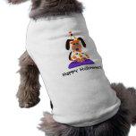 Camiseta del payaso del perro de Halloween Camisas De Mascota