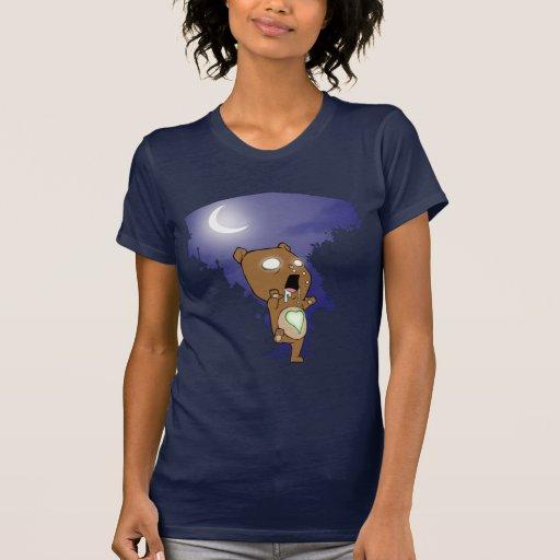 Camiseta del peluche del zombi