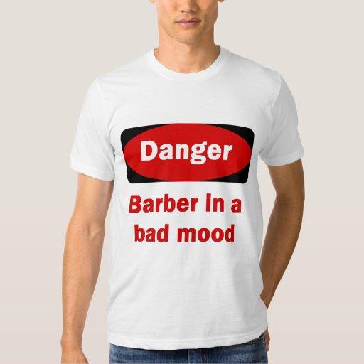Camiseta del peluquero polera