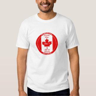 Camiseta del PEMBROKE del DÍA de CANADÁ Remera
