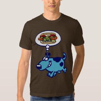Camiseta del perrito caliente de Chicago (perro Remera