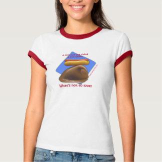Camiseta del perrito caliente de Surfin Playera