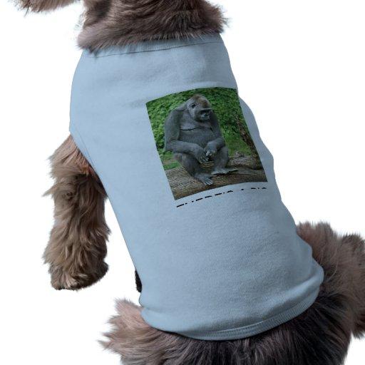 Camiseta del perrito camisetas de mascota