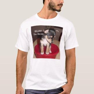 ¿Camiseta del perrito de la chihuahua, ASESINO? Playera