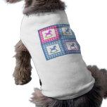 Camiseta del perrito del caballo mecedora camisetas de perro