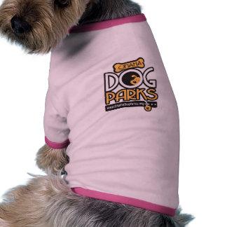 Camiseta del perrito del campanero del parque del