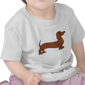 Camiseta del perrito del Dachshund