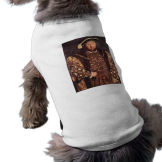 Camiseta del perrito del rey Enrique VIII Prenda Mascota