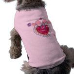 Camiseta del perro de la reina camisetas de perro