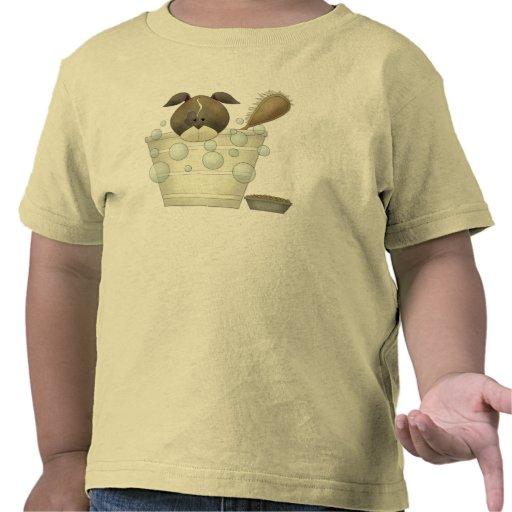 Camiseta del perro de los niños