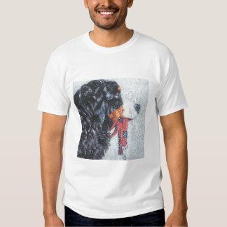 Camiseta del perro de montaña de Bernese Remera