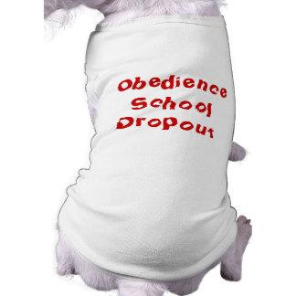 Camiseta del perro de perrito: Salida de la escuel Playera Sin Mangas Para Perro