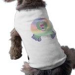 Camiseta del perro de Tiedye Pom Pom PAL Camisas De Perritos