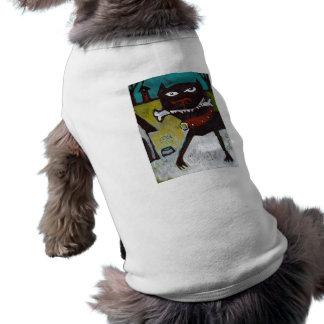 Camiseta del perro de yarda ropa de perro