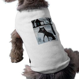 Camiseta del perro de yarda ropa de mascota