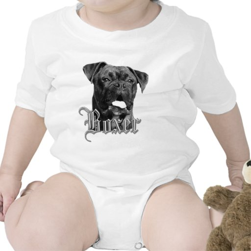 Camiseta del perro del boxeador