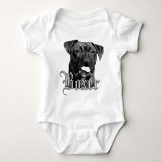 Camiseta del perro del boxeador playera