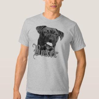 Camiseta del perro del boxeador playeras