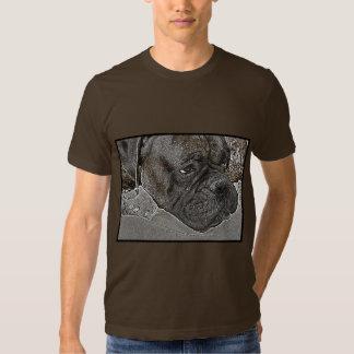 Camiseta del perro del boxeador polera