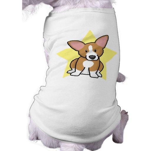 Camiseta del perro del Corgi Galés del Pembroke de Ropa Macota