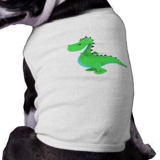 Camiseta del perro del dragón de Toon Playera Sin Mangas Para Perro