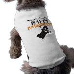 Camiseta del perro del feliz Halloween Playera Sin Mangas Para Perro