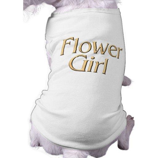 Camiseta del perro del florista camisetas mascota