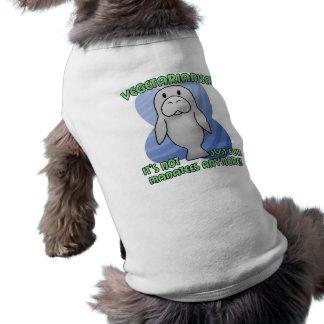 Camiseta del perro del Manatee de Kawaii Playera Sin Mangas Para Perro