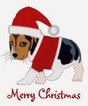 Camiseta del perro del navidad - personalizable
